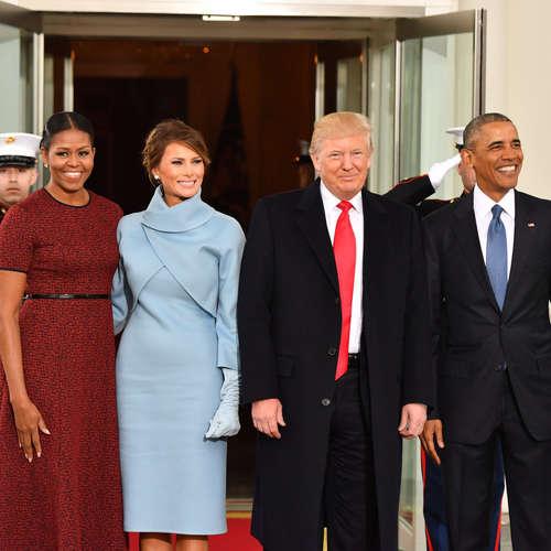 Was passiert im Weißen Haus, wenn der Präsident wechselt?