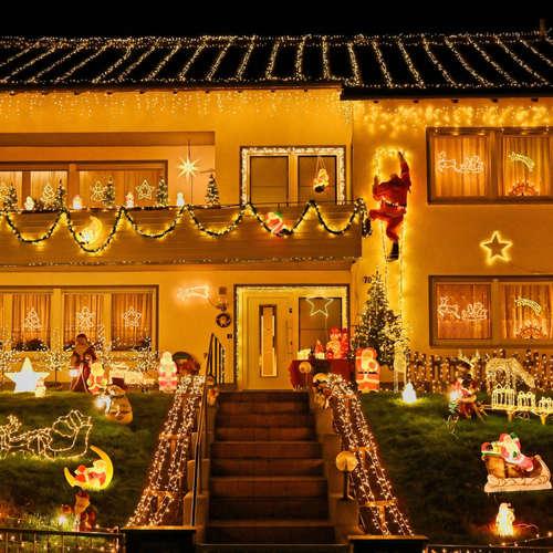 Lichterketten-Fieber: mehr Weihnachtsbeleuchtung wegen Corona