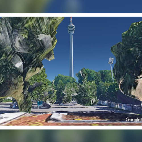 Schöne Fehler - die apokalyptischen Google-Earth-Filme des Medienkünstlers Josh von Staudach