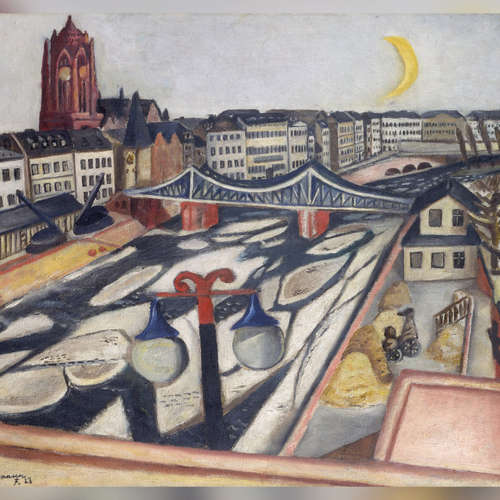 Stadt voller Motive - auf den Spuren von Max Beckmann in Frankfurt