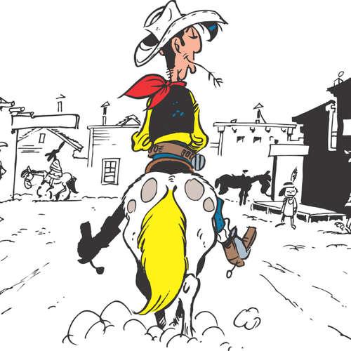 """Lucky Luke Band 100 – """"Die Ursprünge"""" des einsamen Cowboys"""