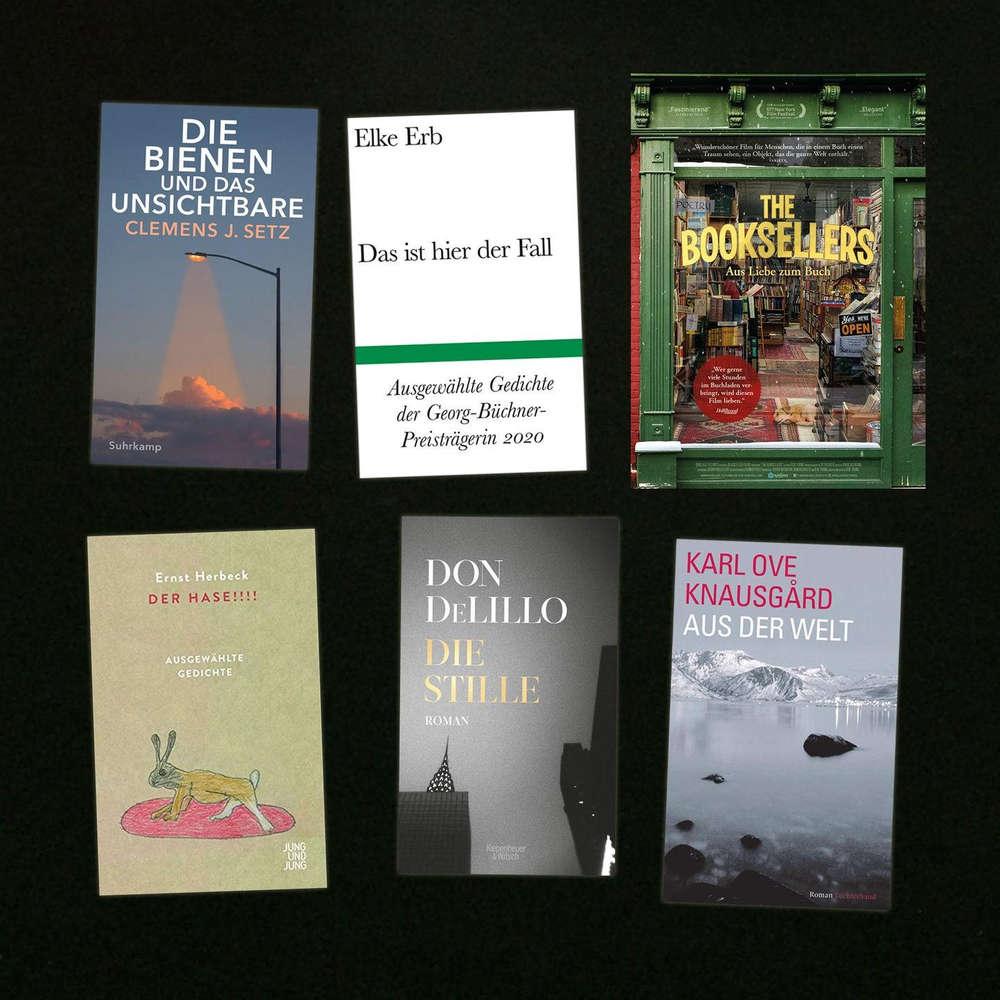 Von Sprachverliebten und Büchernarren - Brillantes aus den USA, ein Film über Buch-Verrückte und ein Hoch auf die Büchner-Preisträgerin Elke Erb