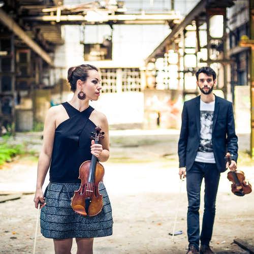 The Twiolins spielen Charles Dancla: Duo brillant für 2 Violinen