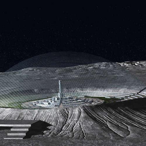 Ein Dorf auf dem Mond? Zukunftsprojekte der Raumfahrt