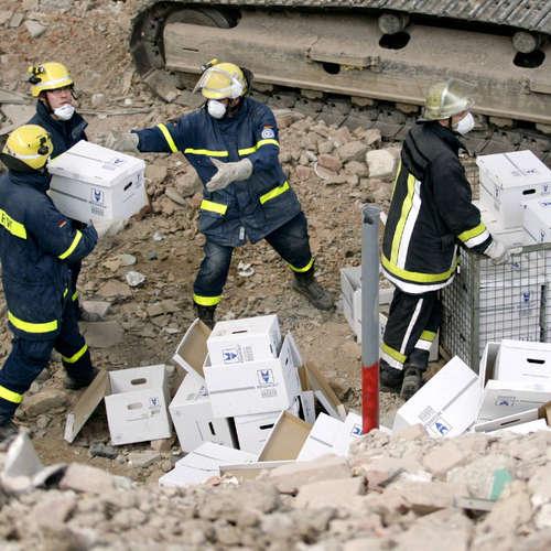 3.3.2009: Das Kölner Stadtarchiv stürzt ein