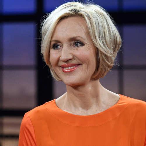 Nachrichtenfrau des ZDF mit Hang zur Perfektion | Petra Gerster, ZDF-Nachrichten-Anchorwoman